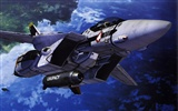 Macross fighter wallpaper (1) #7
