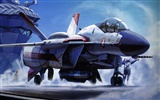Macross fighter wallpaper (1) #20