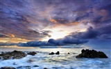 Large coastal coastal scenery wallpaper (2)
