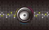 Vector musical theme wallpapers (4) #7