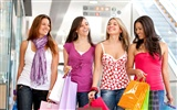 Shopping weiblichen HD Wallpaper (4)