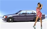 Cars and Girls wallpapers (1) #1