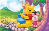 Walt Disney cartoon Winnie the Pooh wallpaper (2)