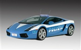 Lamborghini Gallardo Police - 2005 HD Wallpaper