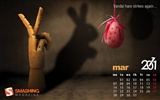 March 2011 Calendar Wallpaper