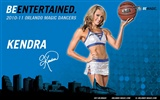 NBA la saison 2010-11, le Magic cheerleaders fond d'écran