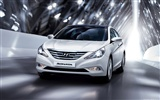 Hyundai Sonata - 2009 HD Wallpaper