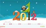 Januar 2012 Kalender Wallpapers