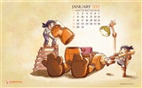Januar 2012 Kalender Wallpapers #3