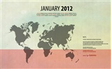 Januar 2012 Kalender Wallpapers #10