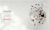 Januar 2012 Kalender Wallpapers #16