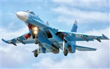 Military fighter HD-Breitbild-Wallpaper