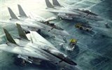 Military fighter HD widescreen wallpapers #2
