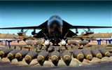 Military fighter HD widescreen wallpapers #3