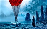 Romantically Apocalyptic creative painting wallpapers (1)