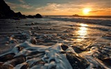 Windows 7 Wallpapers: Sunset Sunrise Beach #10