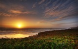 Windows 7 Wallpapers: Sunset Sunrise Beach #11