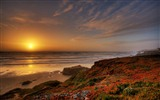 Windows 7 Wallpapers: Sunset Sunrise Beach #15