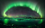 Natural wonders of the Northern Lights HD Wallpaper (2) #10