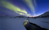 Natural wonders of the Northern Lights HD Wallpaper (2) #19