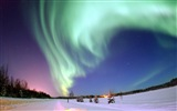 Natural wonders of the Northern Lights HD Wallpaper (2) #22