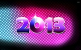 2013 Silvester Thema kreative Tapete (1) #9