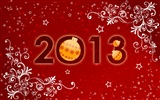 2013 Silvester Thema kreative Tapete (1) #13