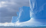 Windows 8 Wallpaper: Antarktis, Schnee Landschaft der Antarktis Pinguine #5