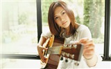 Japanese singer Yoshioka Yui HD wallpapers