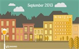 September 2013 Kalender Wallpaper (2) #16