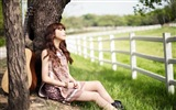 JUNIEL Korea beautiful girl HD wallpaper