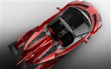 2014 Lamborghini Roadster Veneno rojo supercar HD wallpapers #5