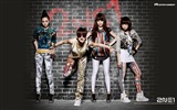 Korean music girls group 2NE1 HD wallpapers