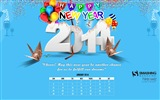 January 2014 Calendar Wallpaper (1)