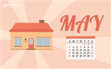 May 2014 calendar wallpaper (2) #3