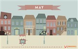 May 2014 calendar wallpaper (2) #4