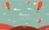 May 2014 calendar wallpaper (2) #12
