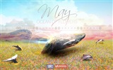 May 2014 calendar wallpaper (2) #13
