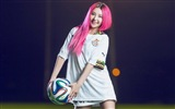 32 World Cup jerseys, football baby beautiful girls HD wallpapers