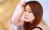 Pure and lovely young Asian girl HD wallpapers collection (1) #34