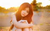 Pure and lovely young Asian girl HD wallpapers collection (3) #22