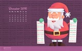 December 2016 Christmas theme calendar wallpaper (1) #25