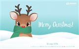 December 2016 Christmas theme calendar wallpaper (1) #26