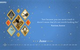 June 2017 calendar wallpaper #6