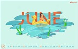 June 2017 calendar wallpaper #9