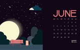 June 2017 calendar wallpaper #16