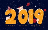 Happy New Year 2019 HD wallpapers #18